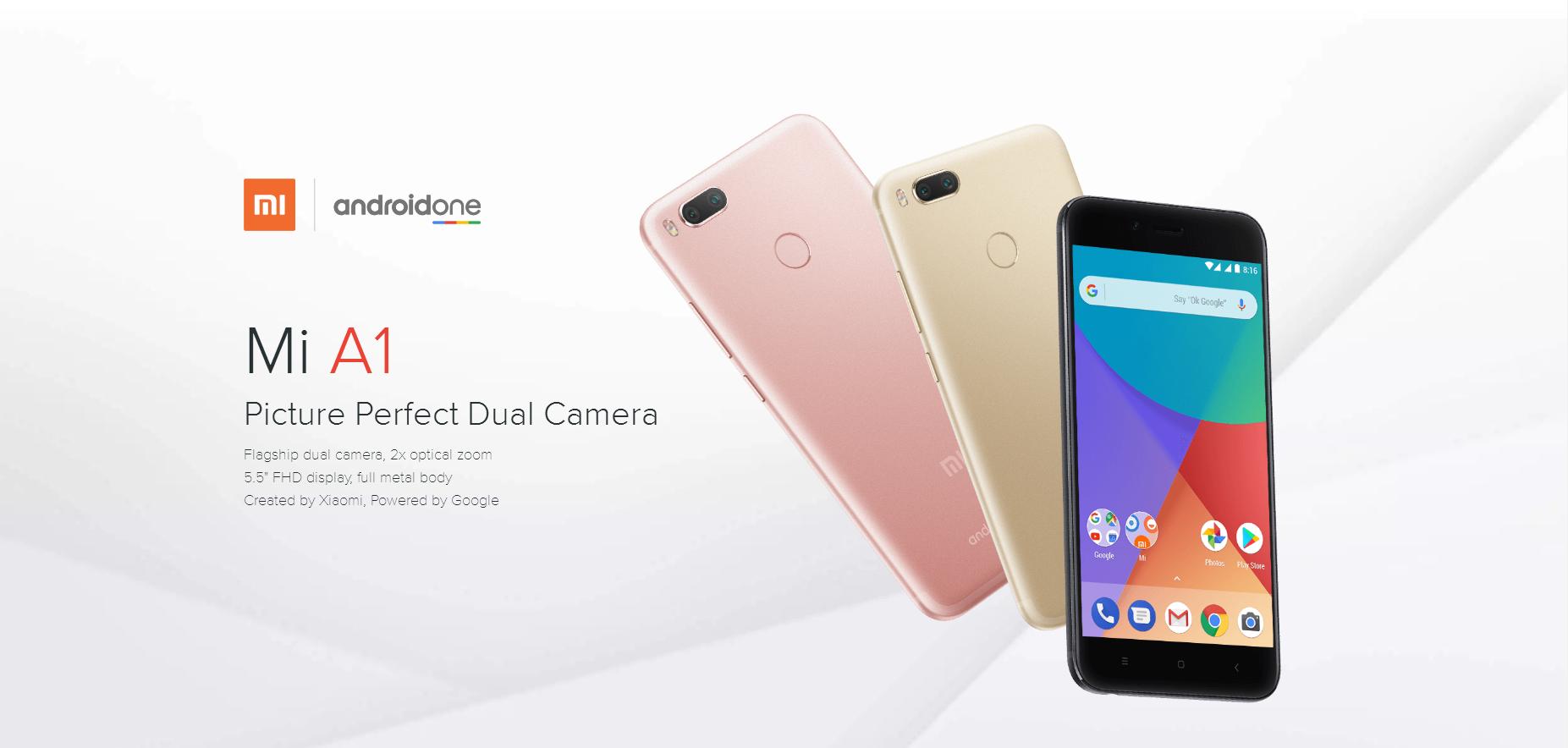 Xiaomi Mi A1 最新レビュー
