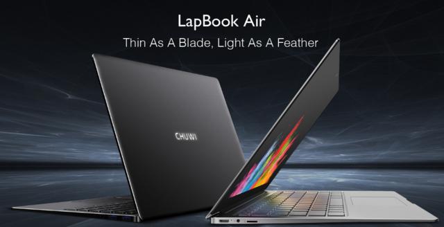 超薄型ノートパソコン——Chuwi LapBook Airのスペックレビュー